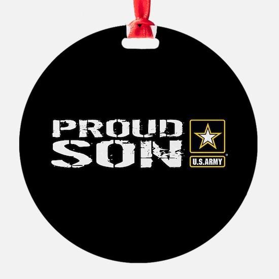 U.S. Army: Proud Son (Black) Ornament