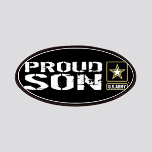 U.S. Army: Proud Son (Black) Patch