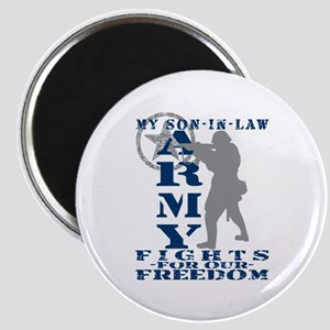 Son-in-Law Fights Freedom - ARMY Magnet