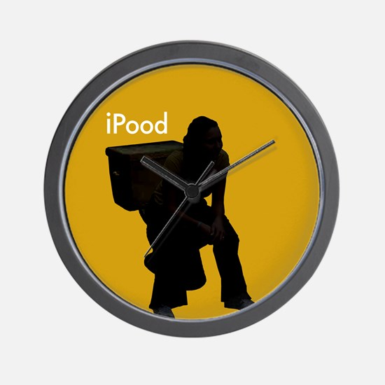 iPod spoof - Wall Clock