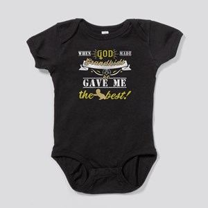 When God Made Grandkids T Shirt Body Suit