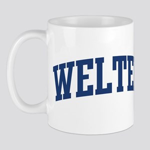 WELTER design (blue) Mug