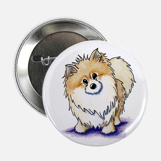 "Curious Pom 2.25"" Button"