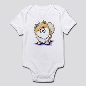 Curious Pom Infant Bodysuit