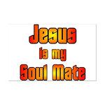 Jesus is my Soul Mate Mini Poster Print
