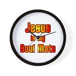 Jesus is my Soul Mate Christian Wall Clock