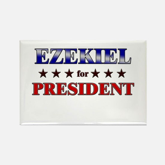 EZEKIEL for president Rectangle Magnet