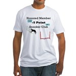 Minus 5 Snooker Fitted T-Shirt