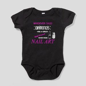 Nail Art Is My BFF Baby Bodysuit