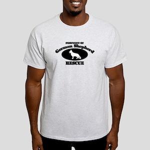 Property of German Shepherd R Light T-Shirt