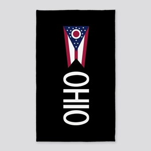 Ohio: Ohioan Flag & Ohio Area Rug