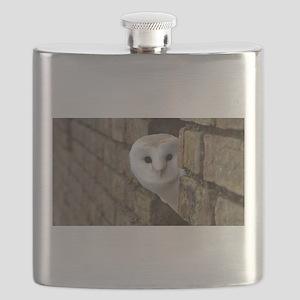 Peek-a-Boo Owl Flask