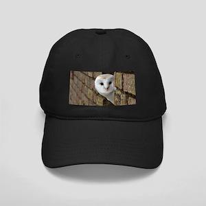 Peek-a-Boo Owl Baseball Hat