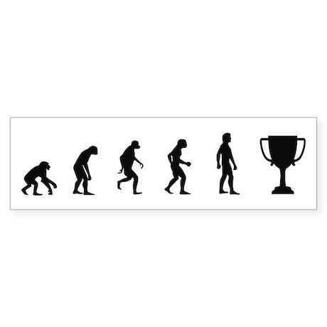 Evolution of Winner Bumper Sticker