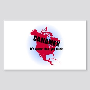 Canamex T-Shirts and Gifts Rectangle Sticker