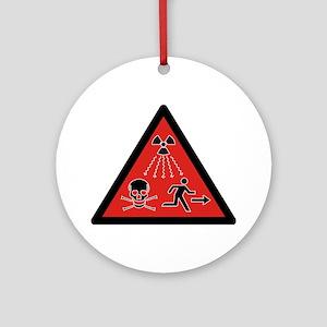 Radiation Hazard Ornament (Round)