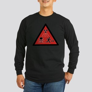 Radiation Hazard Long Sleeve Dark T-Shirt