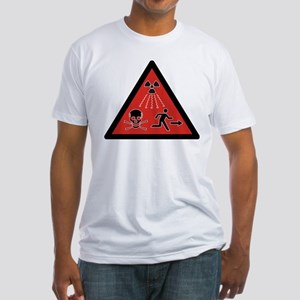 Radiation Hazard Fitted T-Shirt