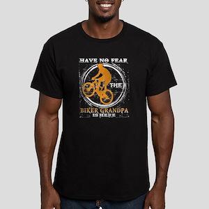 The Biker Grandpa Is Here T Shirt T-Shirt