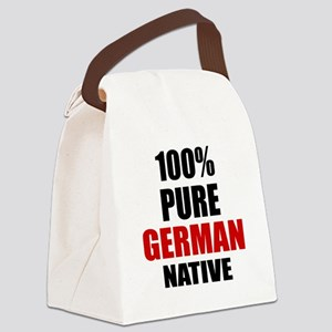100 % Pure German Native Canvas Lunch Bag