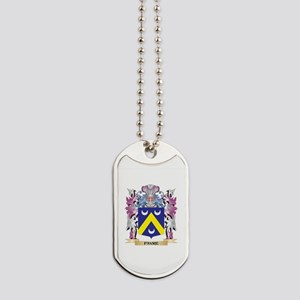 Favre Coat of Arms (Family Crest) Dog Tags