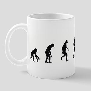 Evolution of Snowmobiling Mug