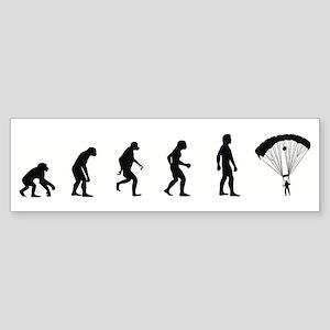 Evolution of Skydiving Bumper Sticker
