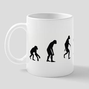Evolution of Skydiving Mug