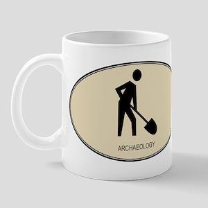 Archaeology (euro-brown) Mug