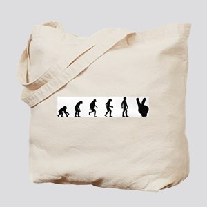 Evolution of Peace Tote Bag