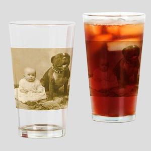 Nanny Dog Drinking Glass