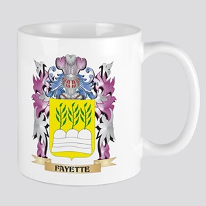 Fayette Coat of Arms (Family Crest) Mugs