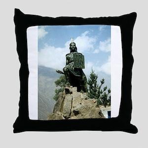 INCA WARRIOR Throw Pillow