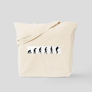 Evolution of Mens Tennis  Tote Bag
