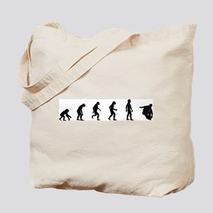 Evolution of Inline Skating Tote Bag