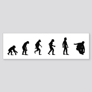 Evolution of Inline Skating Bumper Sticker