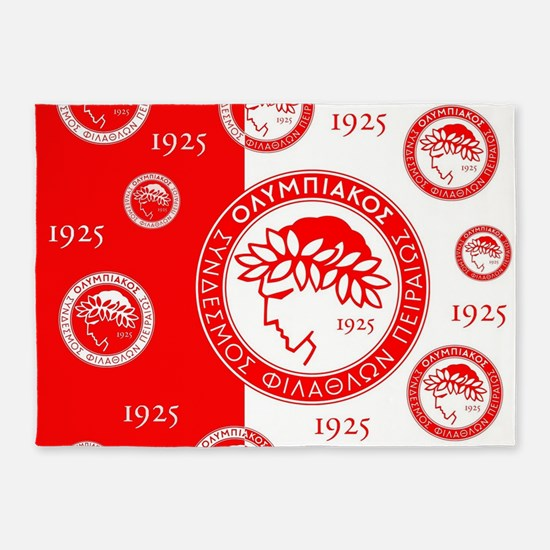Olympiacos 1925 5'x7'Area Rug