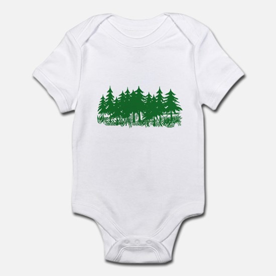 Trees Infant Bodysuit