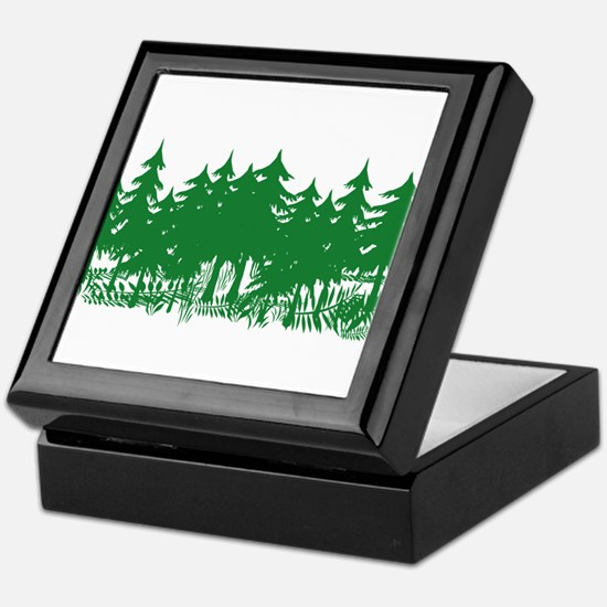 Trees Keepsake Box
