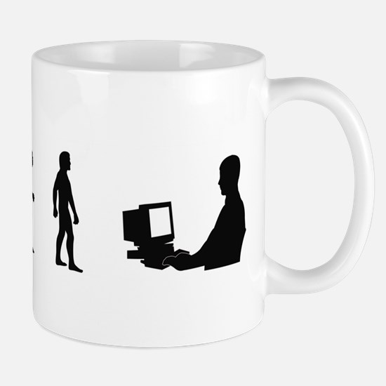 Evolution of Computer Geek Mug