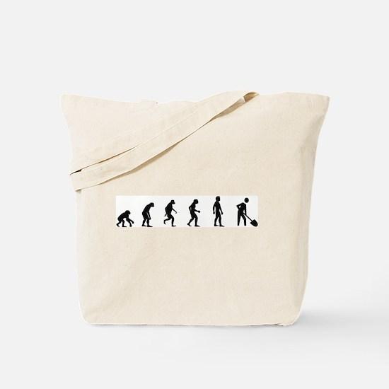 Evolution of Archaeology Tote Bag
