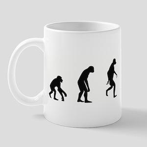 Evolution of Archaeology Mug