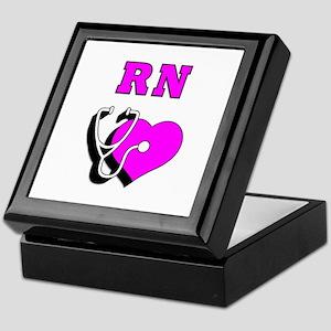 RN Nurses Care Keepsake Box