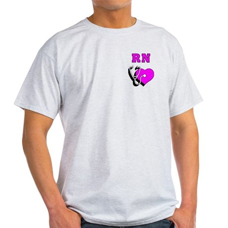 RN Nurses Care Light T-Shirt