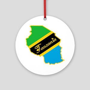 Cool Tanzania Ornament (Round)