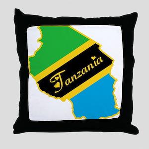 Cool Tanzania Throw Pillow