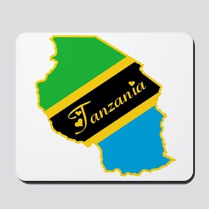 Cool Tanzania Mousepad