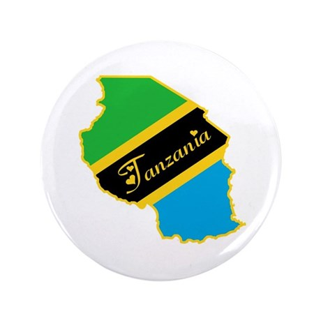 "Cool Tanzania 3.5"" Button"