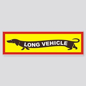Long Vehicle Bumper Sticker