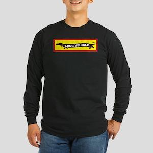 Long Vehicle Long Sleeve Dark T-Shirt